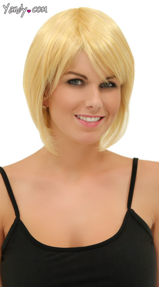 Apricot Blonde Short Bob Wig - Apricot Blond