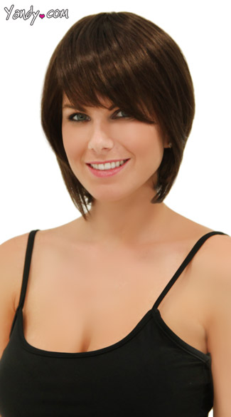Rich Chocolate Short Bob Wig - Chocolate