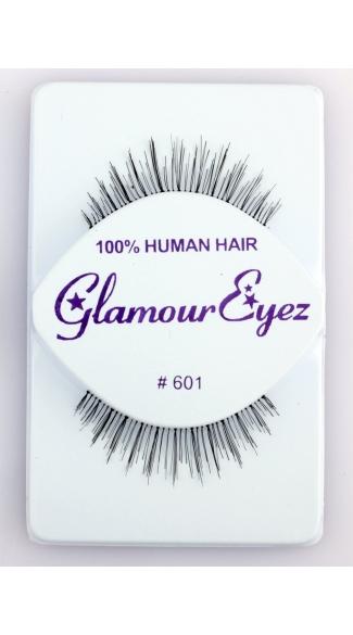 Natural Varied Length False Eyelashes - Black