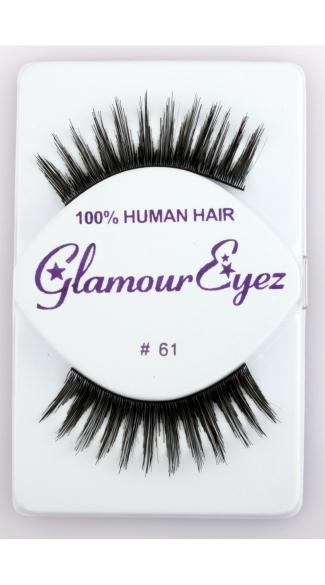 Extra Thick Varied Length False Eyelashes - Black
