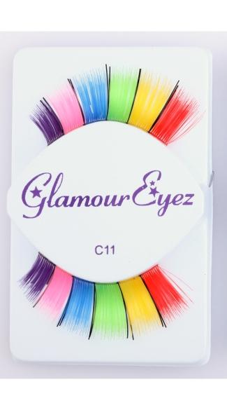 Rainbow with Black Eyelashes - Rainbow