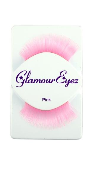 Glamorously Pink Eyelashes - Pink