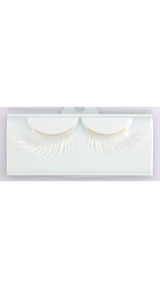 White Wicked Eyelashes, Costume Eyelashes, Shaped Eyelashes