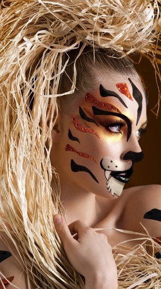 Tigress Face Kit - As Shown