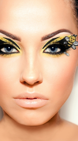 Bumble Bee Eyes - As Shown