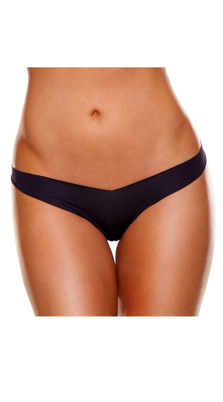 Invisible Thong, Invisible Leopard Print Thong, Invisible Black Thong, Invisible Beige Thong