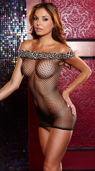 Jungle Fever Chemise - as shown