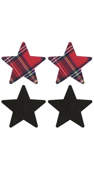 Schoolgirl Star Pasties - As Shown