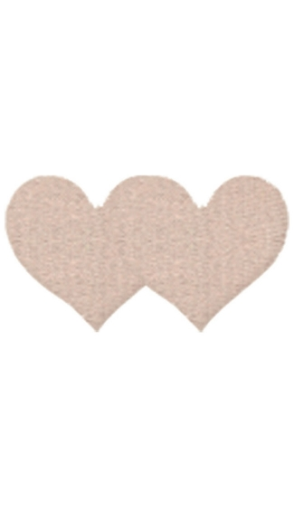 Nude Satin Heart Pasties, Beige Satin Heart Pasties, Beige Heart Pasties