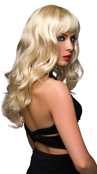 Joey Blonde Curly Layered Wig - Blonde
