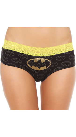 Batman Boyshort Panty, Batman Panty, Batman Boyshorts