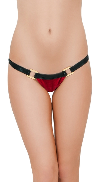 Velvet Rio Bottom - Red