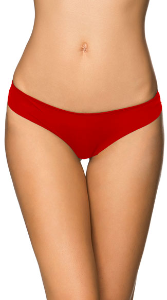 Barely Legal Red Thong, Red Lace Thong, Red Strappy Thong