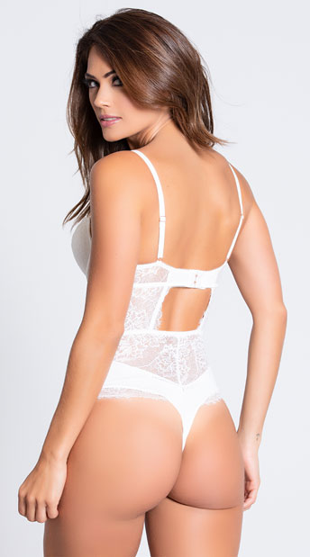 Yandy's The Deanna Bodysuit - White