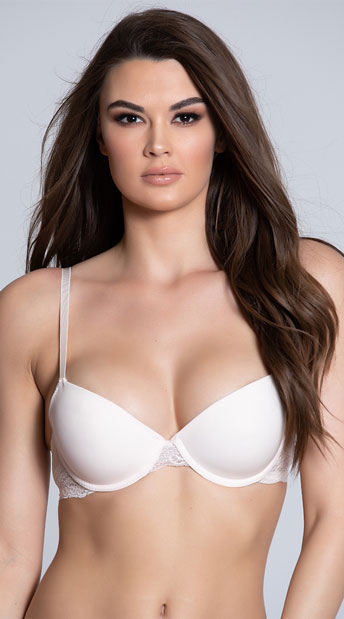 Yandy After Hours Demi Bra - Pink