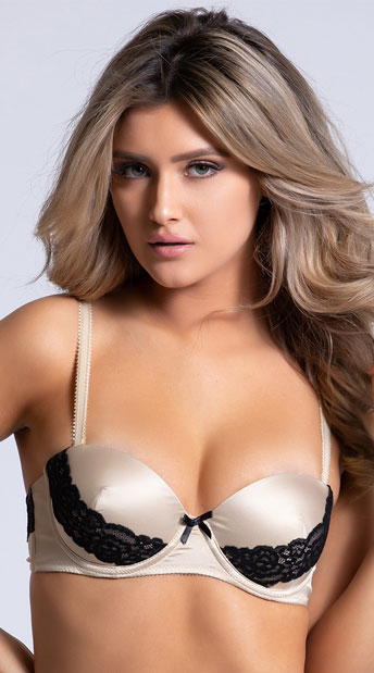 Yandy The Sessilee Multi-way Beige Bra - Beige