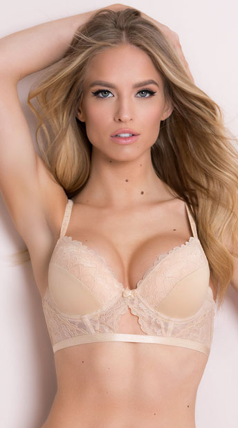 Yandy's The Elsa Nude Bra - As Shown