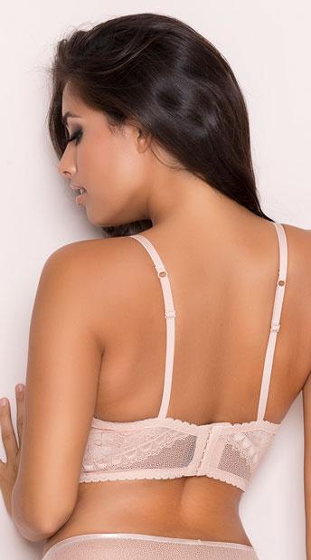 Yandy Status Update Nude Bralette - Nude
