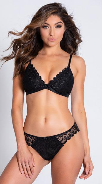 Yandy The Kendall Black Bikini Panty - Black