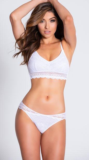 Yandy Layers To It White Bikini Panty - White