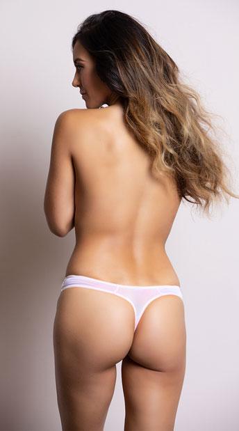 Yandy's The Clara Pink Thong - Pink