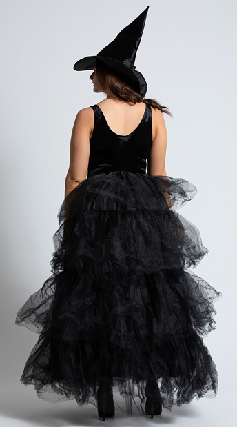 Plus Size Spellbound Witch Costume - As Shown