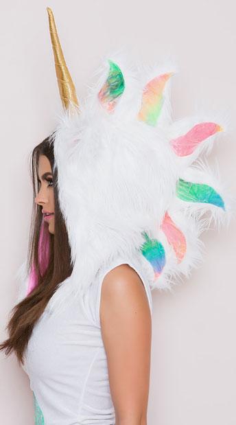 Yandy Majestic Pastel Unicorn Costume - Pastel