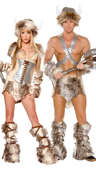 Viking Couple Costume  sc 1 st  Yandy & Menu0027s Deluxe Viking Costume Menu0027s Viking Costume Menu0027s Fur Costume ...