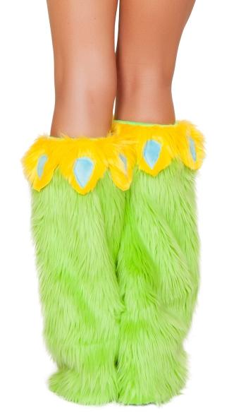 Yandy Parakeet Legwarmers - Green