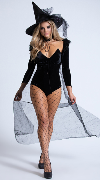Yandy Enchanting Witch Costume - Black