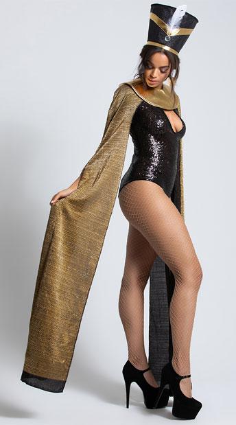 Yandy Run the World Festival Diva Costume - Black/Gold