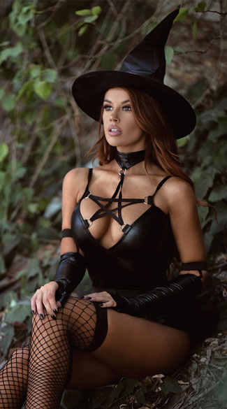 Yandy Miss Witchcraft Costume - As Shown