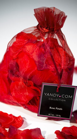 Yandy Bed of Roses Rose Petals - Red