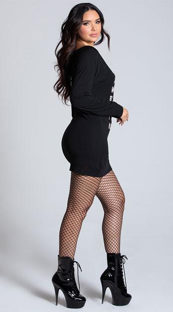 Yandy I Don't Always Wear Black Dress Costume - Black