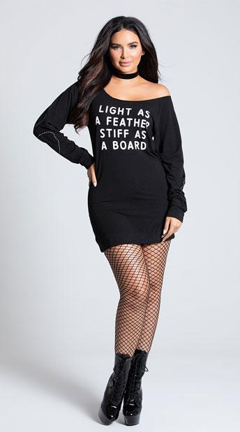 Yandy Light As A Feather Dress Costume - Black