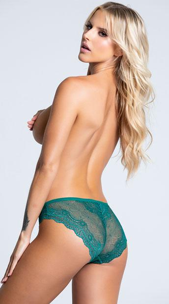 Yandy Affection Cheeky Panty - Green