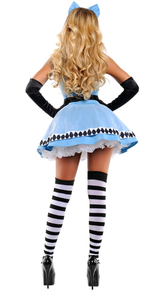 Yandy Sophisticated Alice Costume - As Shown