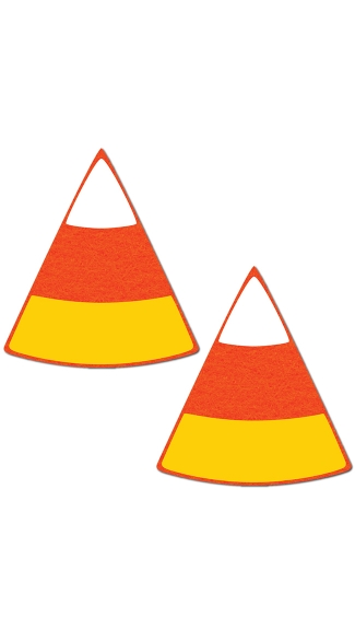 Candy Corn Pasties - As Shown