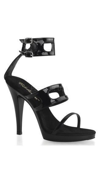 Flair Motorcycle Sandals - Black