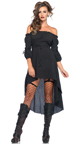 Phantom Hooded Cape, Black Hooded Cape Costume, Black Gauze Hooded Cape