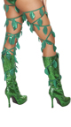 Beautiful Ivy Babe Costume, Sexy Ivy Maiden Costume, Ivy Villain Costume