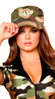Sassy Army Costume, Sexy Scout Costume - Yandy.com