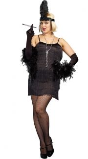 Plus Size Flapper Costumes, Plus Size Sexy Flapper Costumes