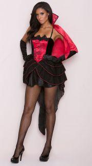 Sexy vampire costume vampire halloween costumes vampire costumes quick view solutioingenieria Images