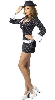 mafia mama costume quick view - Female Gangster Halloween Costumes