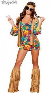 Sexy hippie costume hippie halloween costumes womens hippie costume quick view solutioingenieria Images