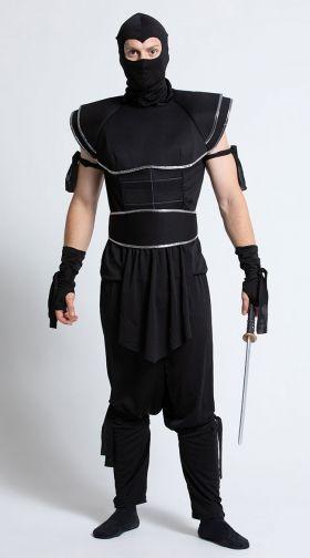 Men\u0027s Ninja Costume Ninja Halloween Costumes for Men