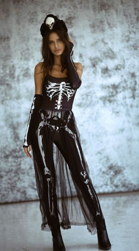 ab61dce0844 Sexy Skeleton Costumes, Skeleton Halloween Costumes, Womens Skeleton ...