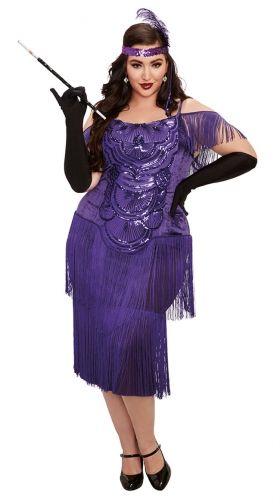 Plus Size Flapper Costumes: 1920s Plus Size Flapper Costumes | Yandy