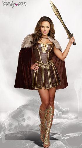 81cc5acc4ae225 Gladiator Costumes  Women s Roman Gladiator Costumes